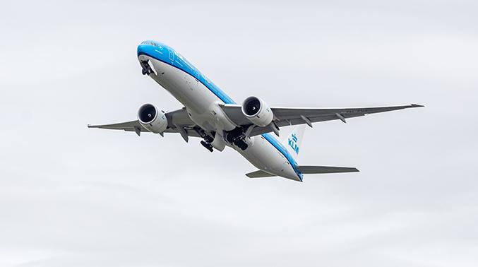 KLM-vlucht Op 'kunstkerosine'